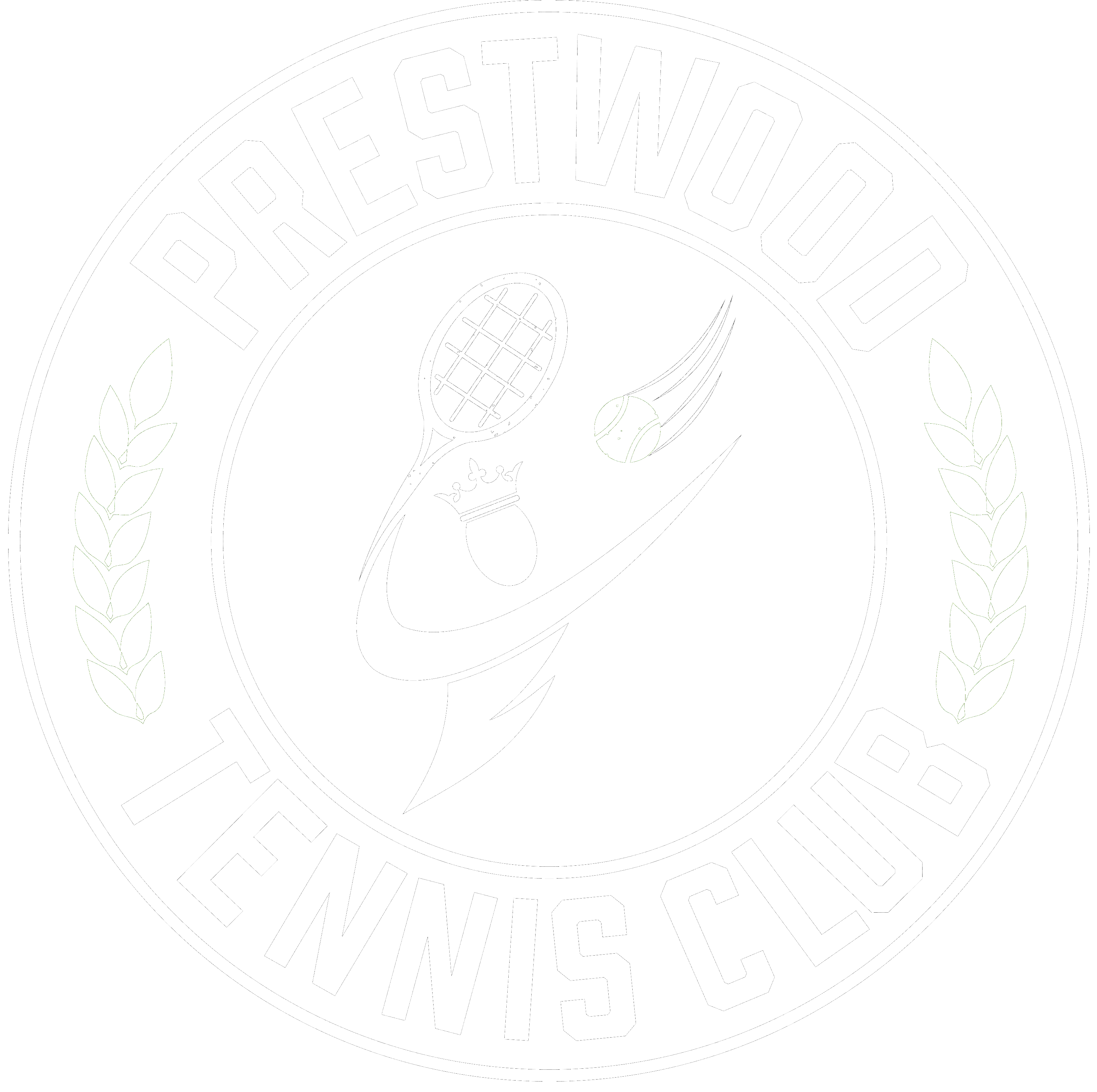 prestwood tennis club logo